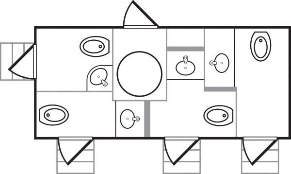 The Charleston Floorplan
